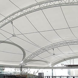 Tensile Roof replacement