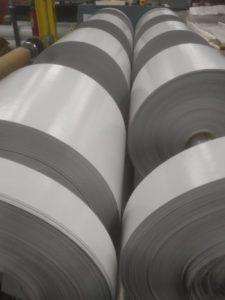 White PVC Coated fabric