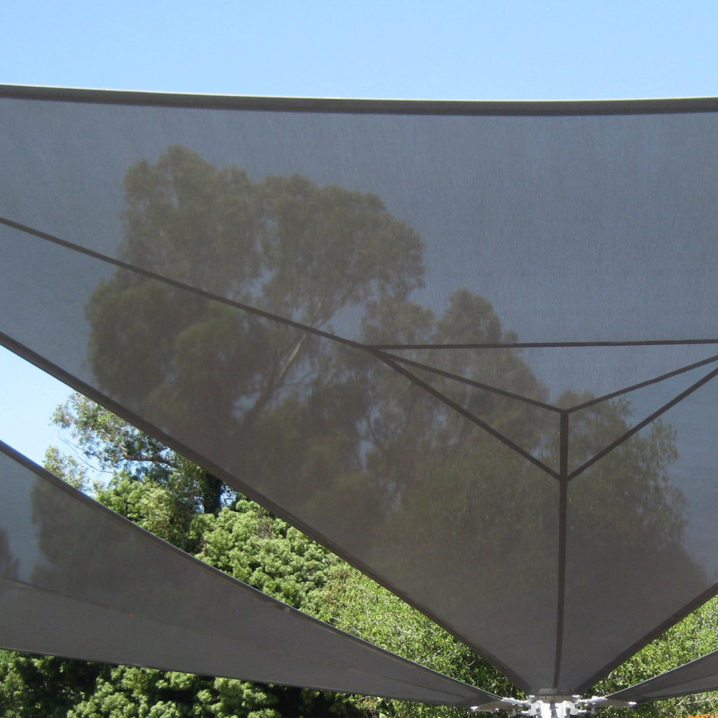 Shade Structure Using Ferrari shade
