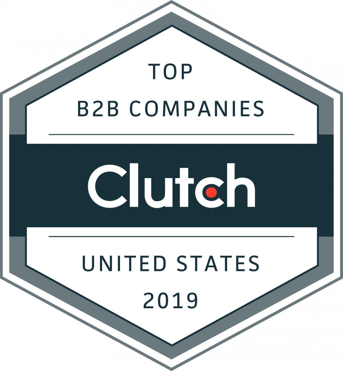 clutch leader b2b badge
